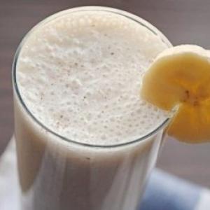 Смузи «Банановая нежность» с кефиром