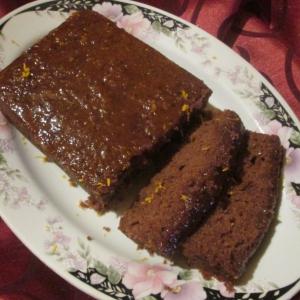 Апельсин - Сочный шоколадный кекс с апельсином