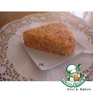 Масло кукурузное - Соленый кекс