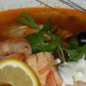 Горбуша - Солянка рыбная Царская-бюджетный вариант