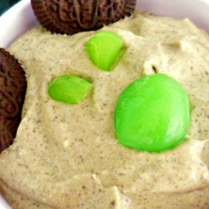 Авокадо - Сорбет из авокадо с Oreo печеньем