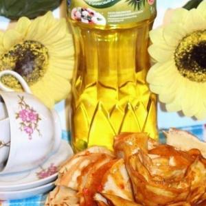 Брусника - Соус из меда и карри для блинов