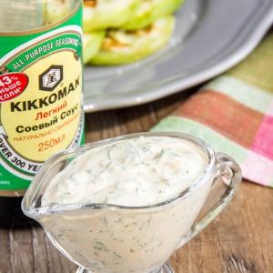 Кисло-молочные продукты - Соус с фетой к овощам-гриль