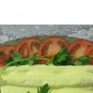 Спаржа - Спаржа под соусом муслин