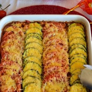 Нут - Средиземноморский овощной тиан