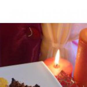 Телятина - Стейк в ореховой панировке с соусом из авокадо