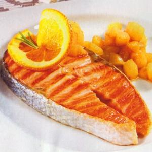 Стейки лосося с грушевым соусом