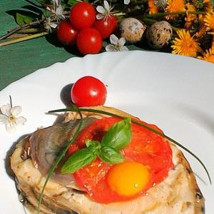 Любисток (любистик, зоря, дудочник, дудчатая трава, любим, заборина) - Стейки зубатки на гриле в сметане