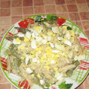 Вегетарианская кухня - Стручковая фасоль со сметаной и сыром