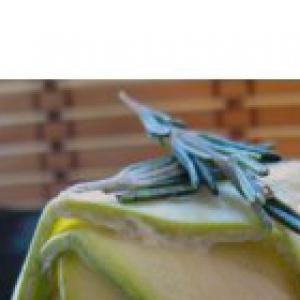 Рикотт - Суфле из цукккини в порционных