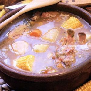 Рецепты супов - Суп ахиако из телятины