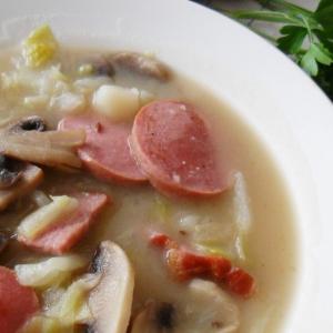 Суп айнтопф из капусты по-швабски