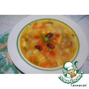 Капуста белокачанная - Суп