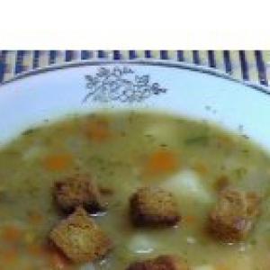 Горох - Суп гороховый быстрый