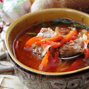 Рецепты австрийской кухни - Суп-гуляш по-австрийски