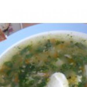 Крапива - Суп