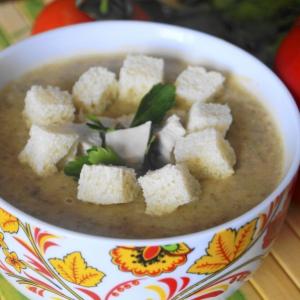 Чечевица - Суп-пюре из чечевицы