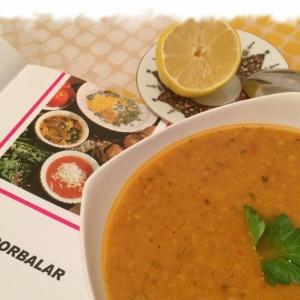 Рецепты балканской кухни - Суп с красной чечевицей