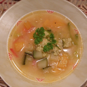 Пшено - Суп с пшеном и овощами