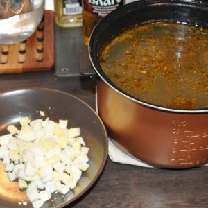 Щавель - Суп щавелевый
