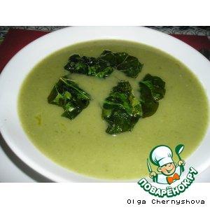 Рецепты португальской кухни - Супчик со шпинатом