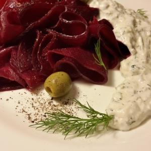 Фет - Свекольный карпаччо-салат