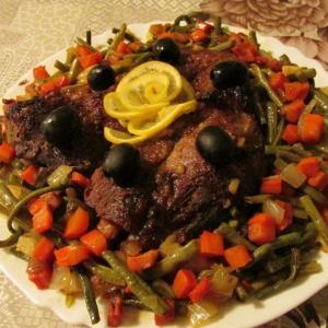Мясо - Свинина, маринованная соком грейпфрута