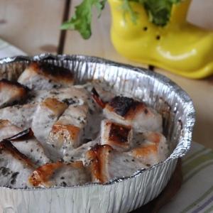 Свинина, маринованная в кефире