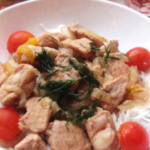 Повседневная кухня - Свинина в китайскoм стиле
