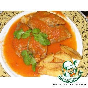 Рецепты испанской кухни - Свиные ножки под томатным соусом