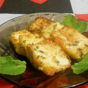 Рецепты индийской кухни - Сыр в мятном кляре