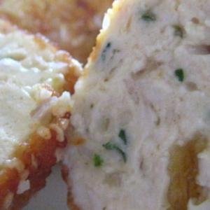 Лук-шалот - Сырно - куриные   крокеты   в   кунжуте