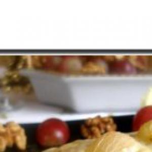 Окунь - Сырно-виноградный окунь