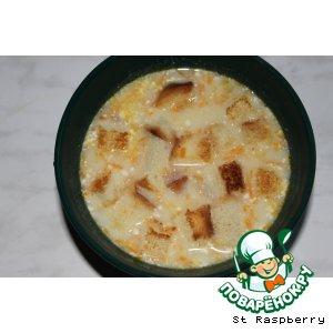 Плавленый сыр - Сырный суп-пюре