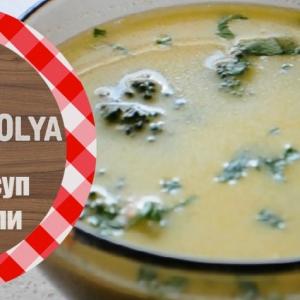 Брокколи - Сырный суп с брокколи