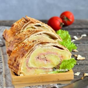 Перец душистый - Сытный картофельный рулет
