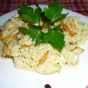Тушеная птица - Тавуклу пилав - рис с курицей