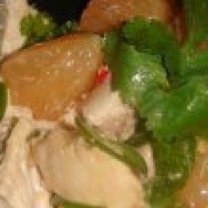 Грейпфрут - Тайский салат