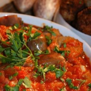 Рецепты греческой кухни - Тефтедес и Имам баялды