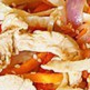 Салат - Теплый салат по-тайски с овощами