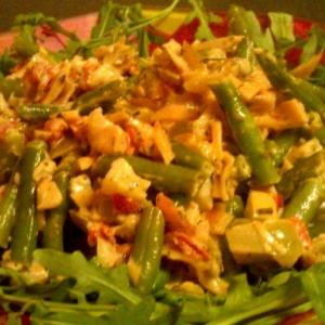 Капуста белокачанная - Теплый салат с секретом