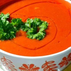Брокколи - Томатно-фасолевый суп