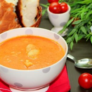Рецепты супов - Томатный рыбный суп-крем