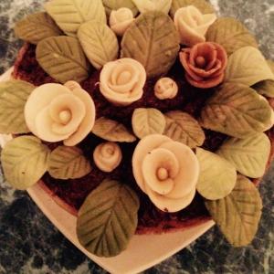 Ликер - Торт Цветы в горшочке