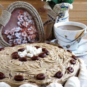 Ликер - Торт «Кофе по-ирландски»
