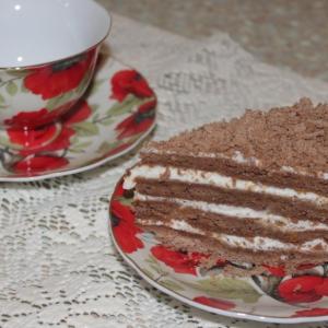 Мед - Торт Медовик шоколадный