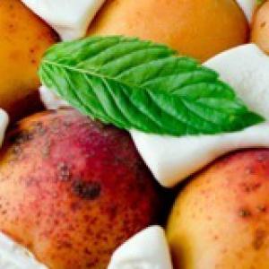 Абрикос - Торт-мусс с абрикосами и сыром