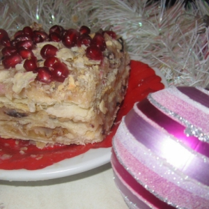 Гранат - Торт Наполеон по-восточному