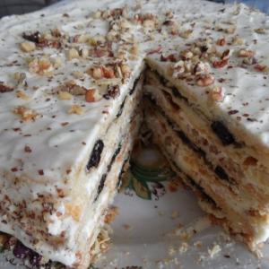 Нут - Торт Наполеон сливовый
