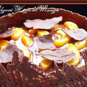 Персик - Торт Осенний блюз